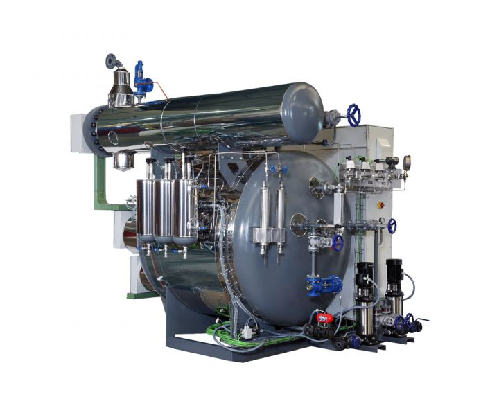 Electric Superheated Rapid Steam Generator - Comparisons with Pressure Boilers