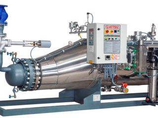 New clean steam generator ATTSU VL-FT-1800 installed in Morocco