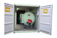 Modelo Container - Mobile Steam Boiler Room