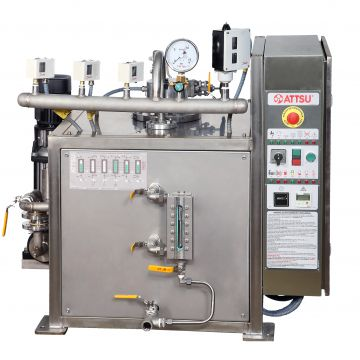How do industrial steam boilers work?