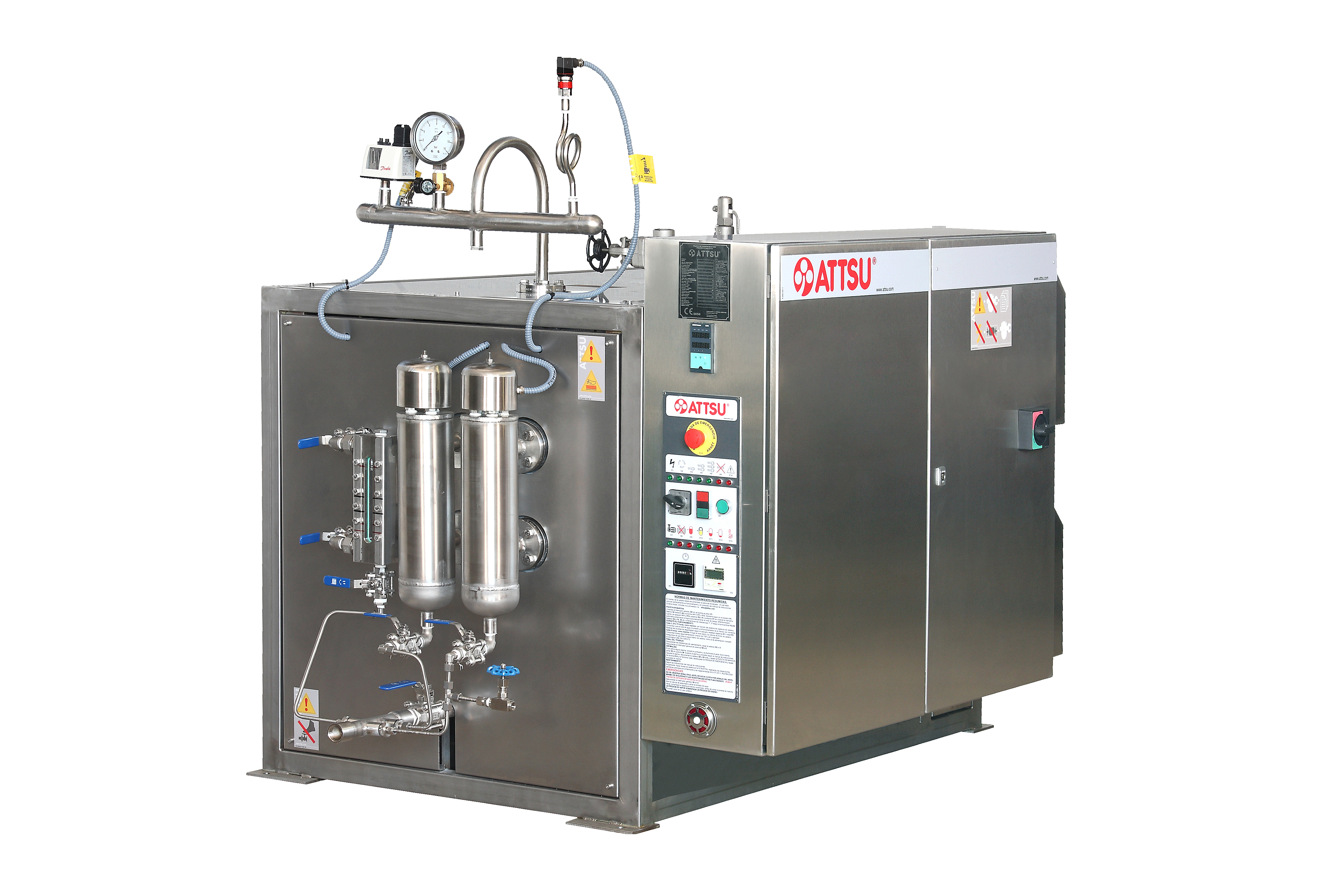 Electric Steam Boiler ~ Attsu gei inox electric steam boiler made of stainless